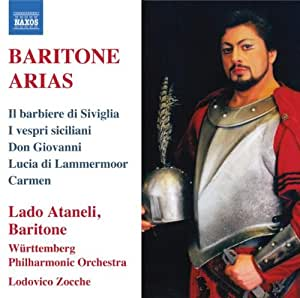 Baritone Arias: Lado Ataneli
