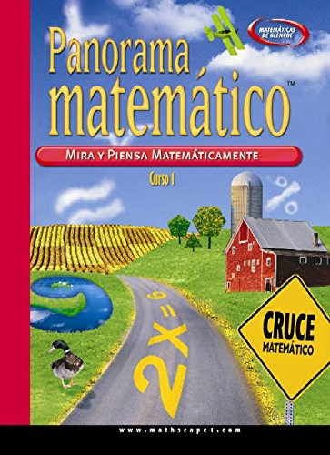 MathScape: Seeing and Thinking Mathematically, Course 1, Consolidated Spanish Student Guide