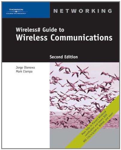 Wireless# Guide to Wireless Communications
