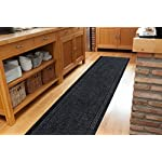 Grey Black Skid Resistant Durable Entry Mats For Kitchen And Hallway - Sold And Priced Per Foot - 2 2