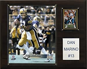 Buy NCAA Football Dan Marino Pittsburgh Panthers Player Plaque by C&I Collectables