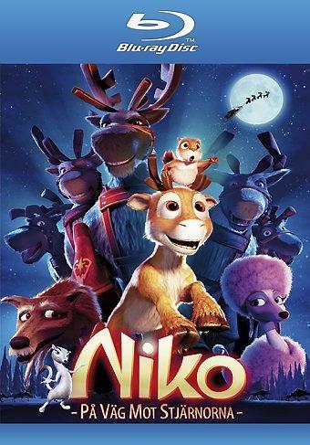 Niko & The Way to the Stars (2008) ( Niko - Lentäjän poika ) ( Niko - På väg mot stjärnorna (The Flight Before Christmas) ) [ Blu-Ray, Reg.A/B/C Import - Sweden ]