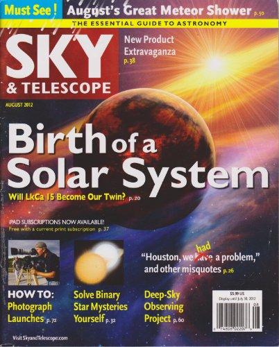 Sky & Telescope Magazine (August 2012)