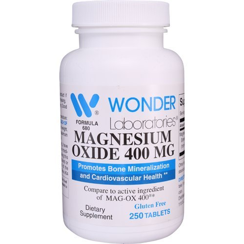 Magnesium Oxide 400 Mg Tab : Magnesium oxide compare to mag ox