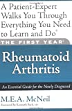 51QYiOFQOrL. SL160 The First Year: Rheumatoid Arthritis: An Essential Guide for the Newly Diagnosed Reviews