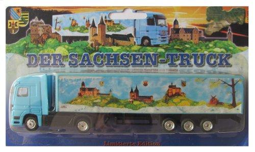 Sachsen Truck Edition Nr.04 - Der Sachsen Truck - MB Actros - Sattelzug