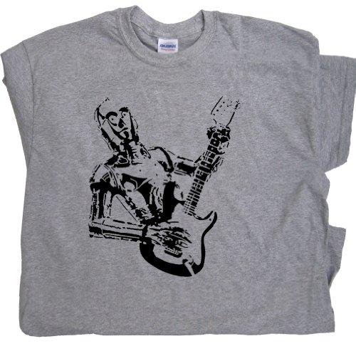 C3Po Guitar T Shirt Gibson Electric Guitar Bass Cool Rock Tee Shirtmandude T Shirts