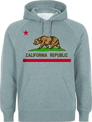 California Republic Logo Flag Medium Unisex Hoodie