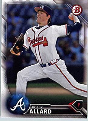 2016 Bowman Prospects #BP69 Kolby Allard Atlanta Braves Baseball Card