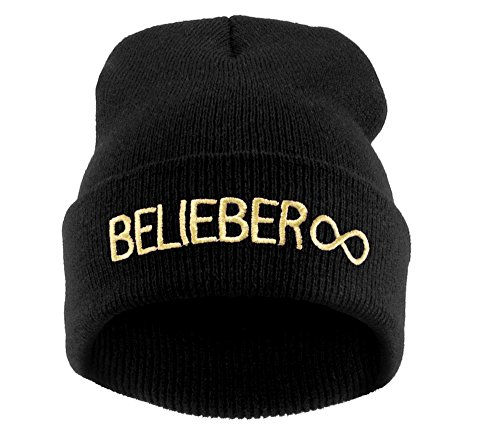Beanie-Mtze-Hat-Damen-Herren-Bad-Hair-Day-Commes-des-1994-HAT-HATS-Morefazltd-TM-Beliber-black-gold