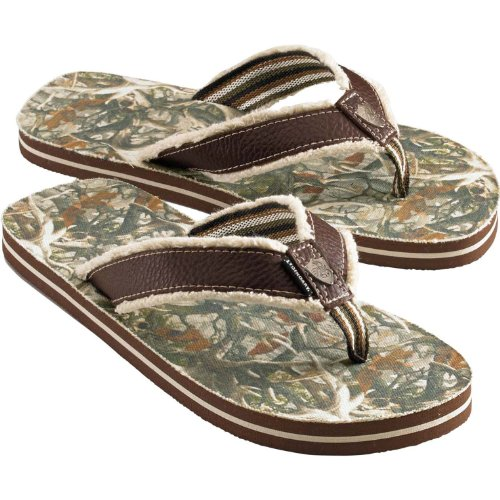 Legendary Whitetails Hidden Track Legends Camo Flip Flops Legends Camo XX-Large