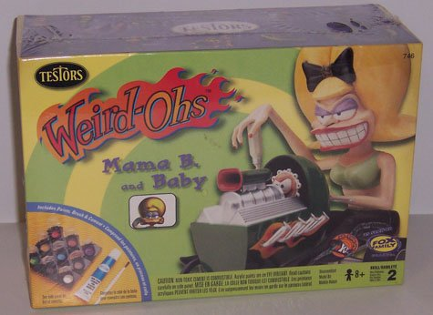 Weird-Ohs Mama B. and Baby Model Kit