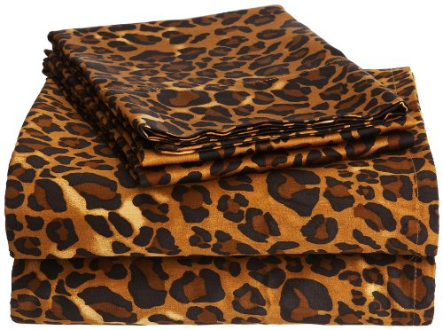 Leopard Sheets King front-1025069