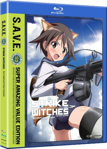 ストライクウィッチーズ 第1期 S.A.V.E. 北米版 / Strike Witches: Season 1 S.A.V.E. [Blu-ray][Import]