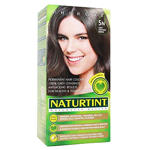 Naturtint Permanent Hair Colorant 5N Light Chestnut Brown -- 5.28 fl oz (Natural Hair Dye compare prices)