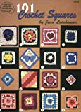 101 Crochet Squares (#1216) (0881957151) by Leinhauser, Jean