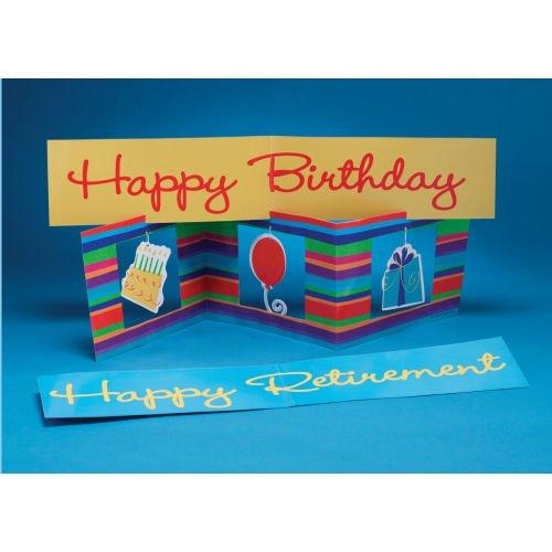 Creative Converting - Birthday / Retirement Stripes Centerpiece