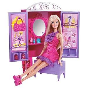 Barbie Doll & Furniture Closet
