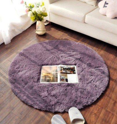 80Cm Round Yoga Fitness Mats Parlor Tea Table Bedroom Mats Point Brain Chair Mats