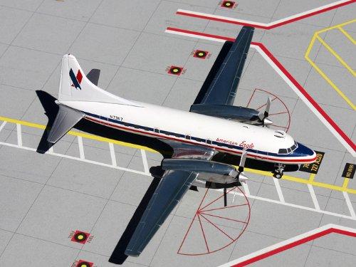1: 200 ジェミニジェット アメリカン Eagle Convair CV-580 (並行輸入)
