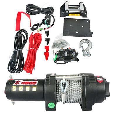 NEW-ATV-UTV-WINCH-MOTOR-ASSEMBLY-KIT-4500LB-RATING