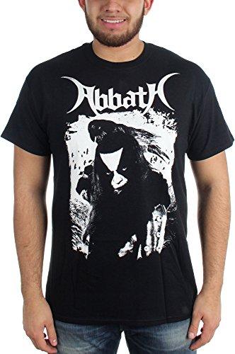 Abbath-Maglietta da uomo, colore: nero corvino