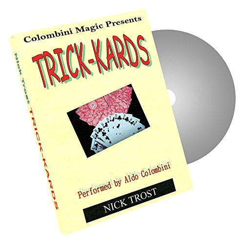 MMS Trick Kards by Wild-Colombini Magic DVD