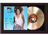 "Whitney Houston - Dance Cherrywood Reproduction Signature Display. ""M4"""