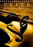 Geige-Zupfen-streichen-klingen-lassen-Tischkalender-2014-DIN-A5-hoch-Aus-der-Geigenbauerwerkstatt-Tischkalender-14-Seiten
