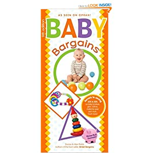 amazoncom baby bargains secrets to saving 20% to 50% on baby weekend baby bargains 300x300