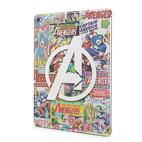 The Avengers Assemble Mighty Heroes Comics Collage Captain America Thor Hulk Ironman Black Widow Hawkeye Hard Snap-On Protective Case Cover For Apple iPad Air 2