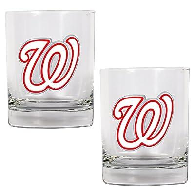 MLB Two-Piece Rocks Glass Set