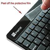 Fintie (Black) 7 inch Ultrathin Bluetooth Wireless Keyboard for iPad miniiPad mini with Retina Display iPad 2/3/4 iPad Air (Function Keys For Apple iOS only)