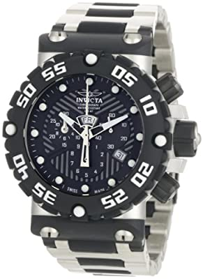 Invicta Men's 0402 Subaqua Collection Nitro Chronograph Stainless Steel and Polyurethane Watch