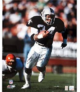 Bo Jackson Signed Oakland Raiders 16x20 Autographed Football Photo Black Jersey -... by Powers Collectibles