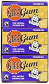 Glee Gum Tangerine, 16-Piece Boxes (P…