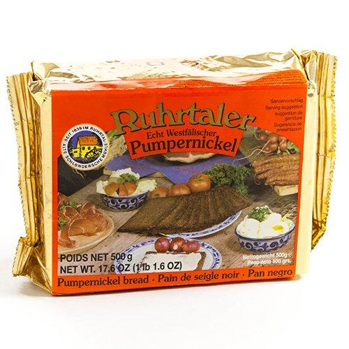Ruhrtaler German Pumpernickel Bread (1.1 pound) (German Dark Bread compare prices)