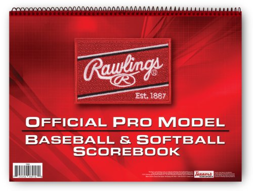 Rawlings Pro-Model Baseball Scorebook