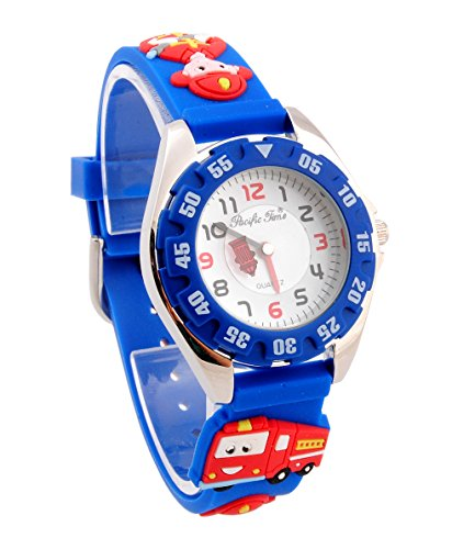 Kids watch / kids watches for boys cool firefighter quartz clock entrance / admission / graduation / graduation / child day gift picks capdase.