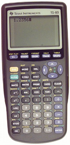 Texas Instruments TI83 Graphing Calculator
