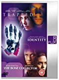 Trapped/Identity/The Bone Collector [DVD] [2000]