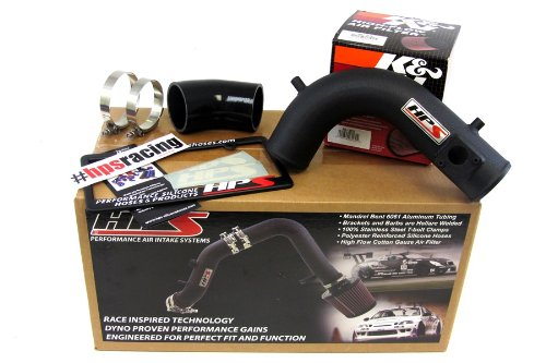 09-14 Acura TSX 2.4L HPS Black Shortram Air Intake Kit Short Ram Cool 10 11 12 13 (2009 Acura Tsx Intake compare prices)