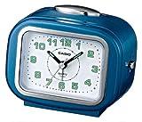Casio TQ367/2 Wake-Up Timer Clock, Metallic Blue