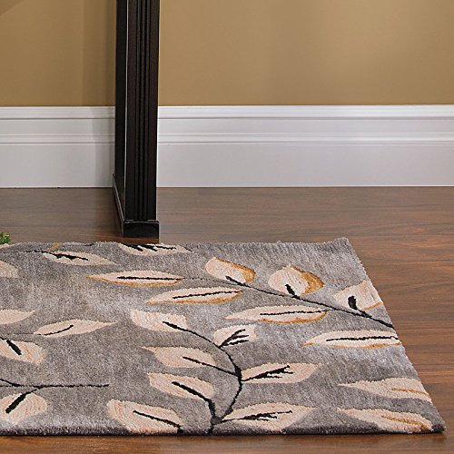 Licorice Leaves Area Rug-66