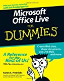 Microsoft Office Live For Dummies (0470116587) by Fredricks, Karen S.