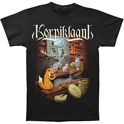 Korpiklaani -  T-shirt - Uomo Nero nero S/XXL