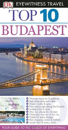 Top 10 Budapest (Eyewitness Top 10 Travel Guide) front-252830