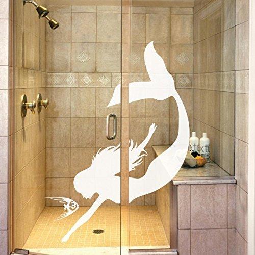 bathroom-decor-mermaid-art-sticker-two-fish-swimming-wall-murals-ocean-theme-vinylmediumwhite