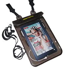 buy Trendydigital H2Oproof(Tm) Audio Waterproof Case With Padding, Headphone Adapter, Removable Strap For Kindle Fire, Kindle 1, 2,3 (First, Second And Third Generation Kindle) , Nook Tablet, Nook Color And Other 6 Or 7 Inch Tablet (Black)
