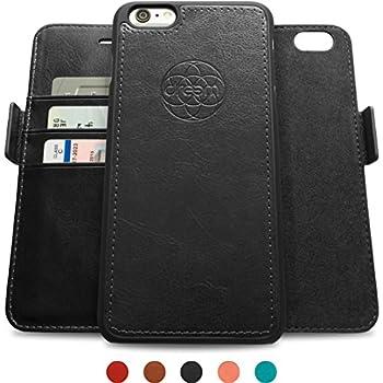 14. Versatile iPhone 6s Plus Case + Wallet Folio, Detachable Design, 2 Kickstands, Premium Vegan Leather, Gift Box.. Dreem Fibonacci